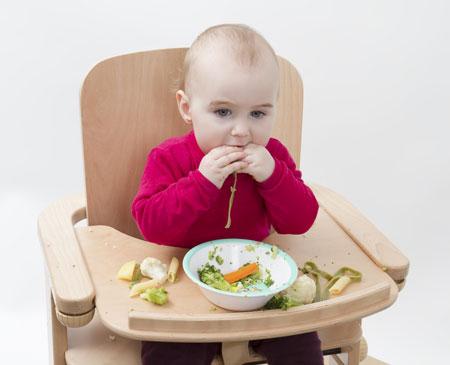 Поведение ребенка за столом: как отучить играть с едой