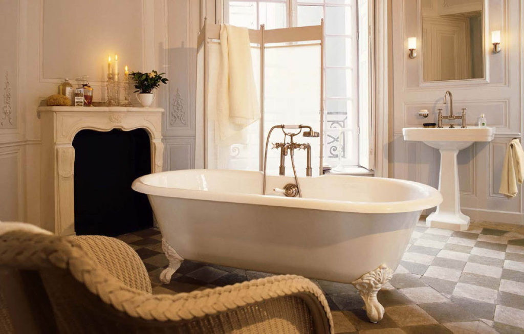 Ретро стиль для вашей ванны