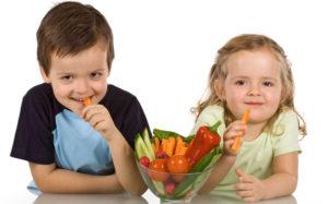 Мультипликационные персонажи помогут детям есть больше овощей и фруктов