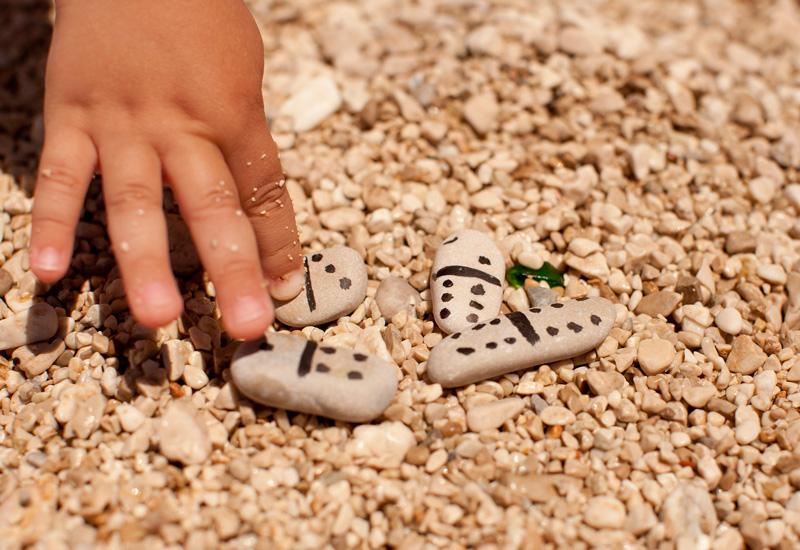 Игры с ребенком на пляже