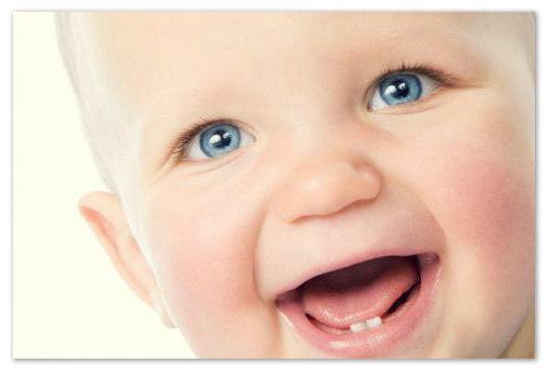 О первых зубках ребенка