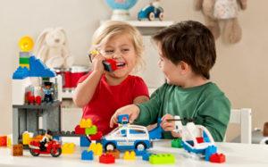 Конструктор развивает мозговую деятельность малышей, улучшает моторику и мыслительные процессы