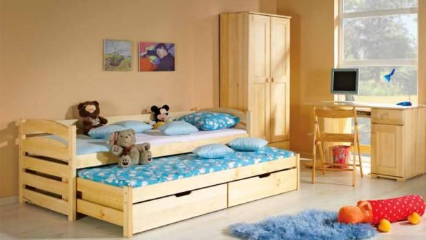 Детская кровать должна быть безопасной для ребёнка