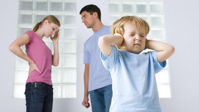 как после развода объяснить ребенку звездолет исчез