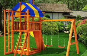Детские площадки, батуты для загородного отдыха