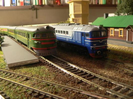 Модели железных дорог – ваше семейное хобби.с