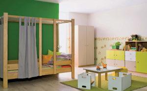 Деревянная мебель для детской комнаты – выбор заботливых родителей