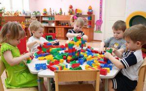 Первое знакомство с детским садом