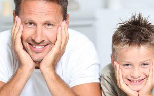 Энтузиазм отца снижает риск проблем с поведением у ребенка