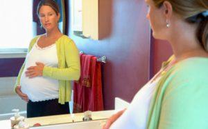 Как изменяется лицо при беременности
