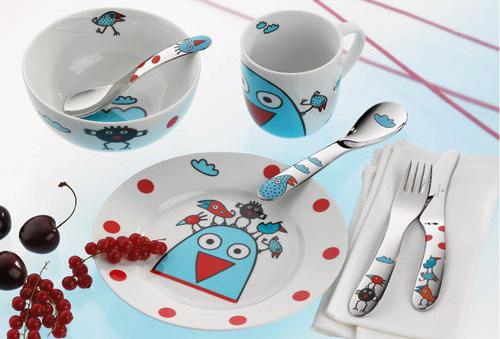 Посуда для детей от магазина Glasko