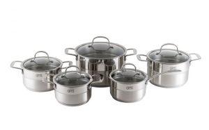 Особенности металлической посуды Gipfel