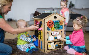 Домашние развивающие игры для малыша