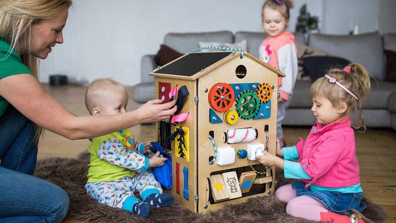 Развивающий домик для детей своими руками