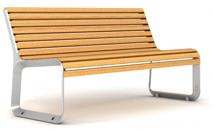 Уличная скамейка — элемент отдыха и эстетики