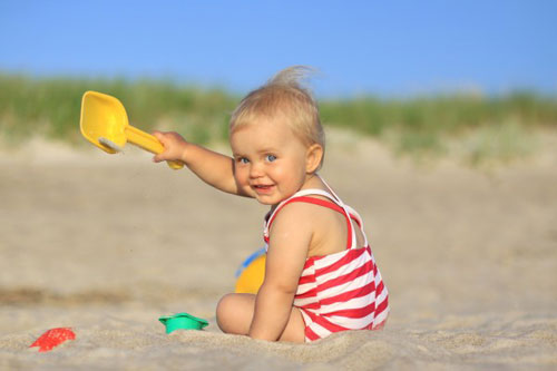 Как организовать отдых с детьми до года