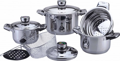 Посуда Bekker – для профессиональной и полупрофессиональной кухни