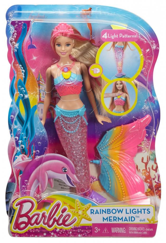 Кукла Барби-русалка — мечта каждой девочки