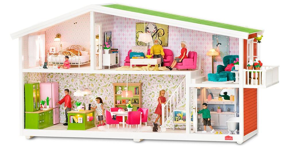 Кукольный домик от интернет-магазина babyvil.ru — это качество за разумную цену