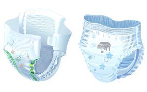 Заботливые мамы выбирают подгузники от интернет-магазина nanbaby.ru