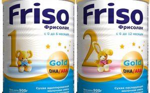 Особенности детских смесей торговой марки «Friso»