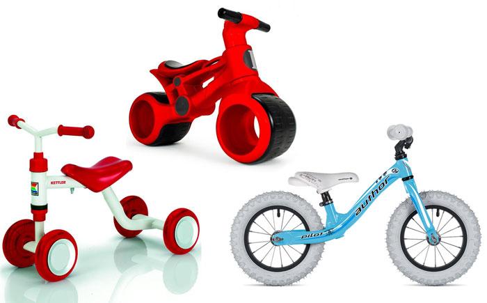Велосипеды для детей от 10 месяцев