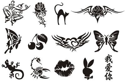 Трафареты для тату: для чего используются, где заказать с доставкой по России?