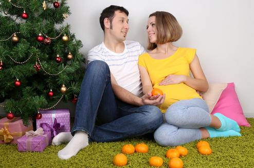 Как встретить Новый год беременной