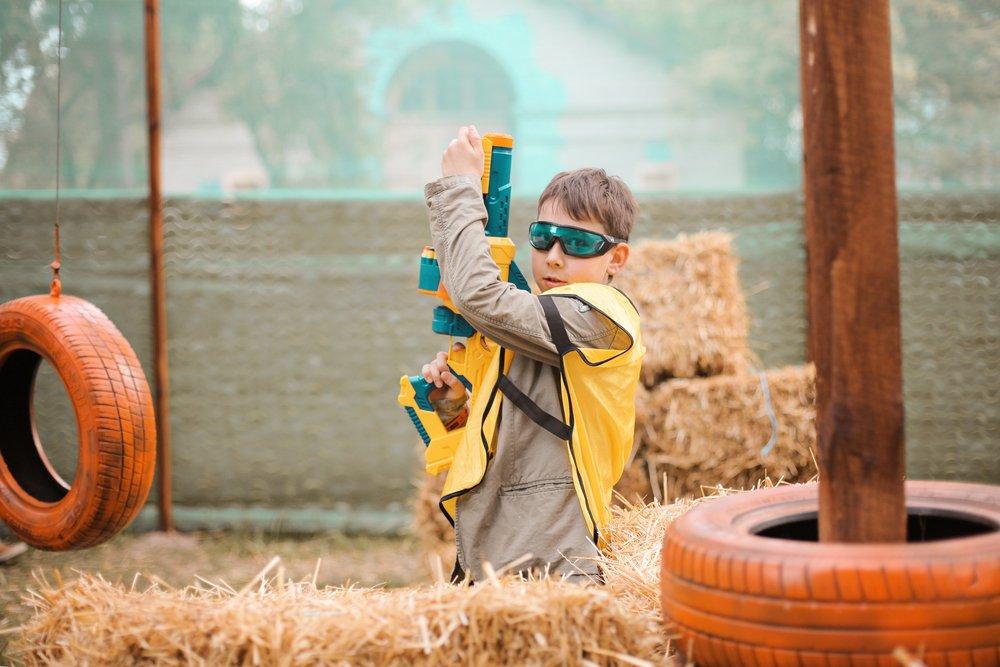 Детские гидрогелевые пистолеты опасны для глаз