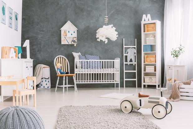 Как цвет стен в детской влияет на всю будущую жизнь ребенка