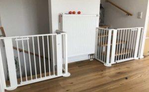 Почему важно иметь детские лестничные ворота?