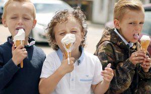 Мороженое детям