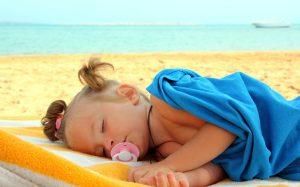Акклиматизация у детей на море