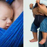 Как носить новорожденного ребенка: в слинге или в рюкзаке-переноске?