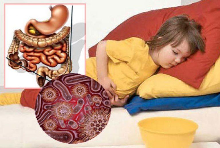 Кишечный грипп у ребенка