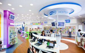 Характеристики ноутбуков, реализуемых интернет-магазином «Связной»