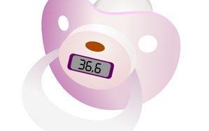 Соска-термометр для грудничка